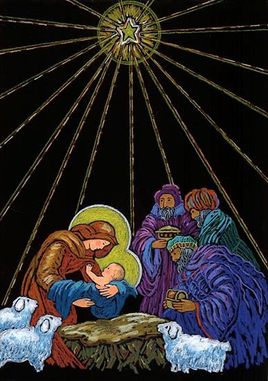 Black Light Nativity
